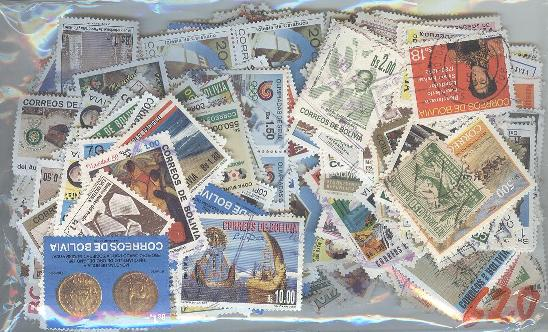 Lot#15: EXCELENT LOT OF 620  DIFF. STAMPS  (Prox. Oferta Mínima: 3.25)