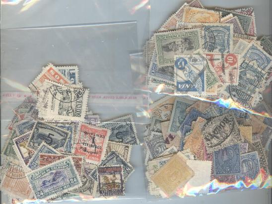 Lot#37: LOT OF USED STAMPS SOME SCARCE STAMPS  (Prox. Oferta Mínima: 10.5)