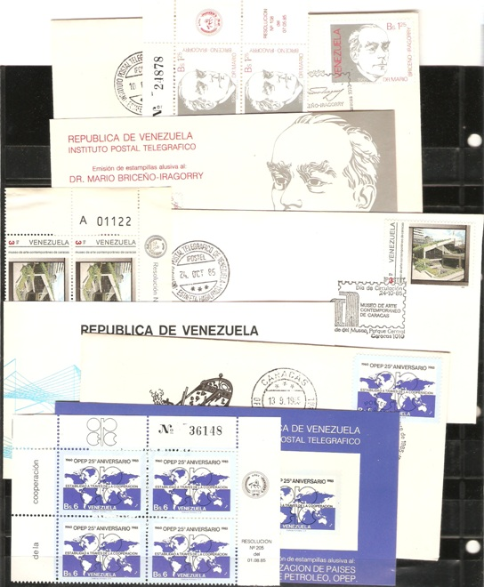 Lot#295: 1333, 1339, 1340 X 6 PLUS 3 FDC  (Prox. Oferta Mínima: 2.25)