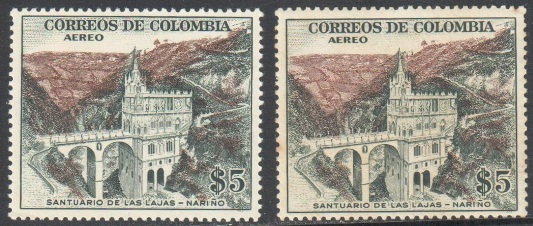 Lot#86: C252 X 2 STAMPS ONE WITH RUST  (Prox. Oferta Mínima: 3.25)